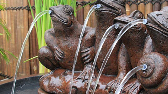 Outdoor Garden Water Features and Fountains Queensland